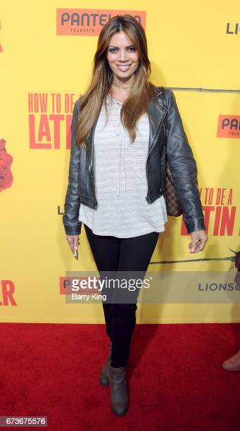 Actress/model Lianna Grethel attends premiere of Pantelion Films' 'How To Be A Latin Lover' at ArcLight Cinemas Cinerama Dome on April 26 2017 in...