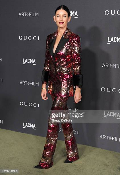 Actress/model Liberty Ross arrives at the 2016 LACMA Art Film Gala Honoring Robert Irwin And Kathryn Bigelow Presented By Gucci at LACMA on October...