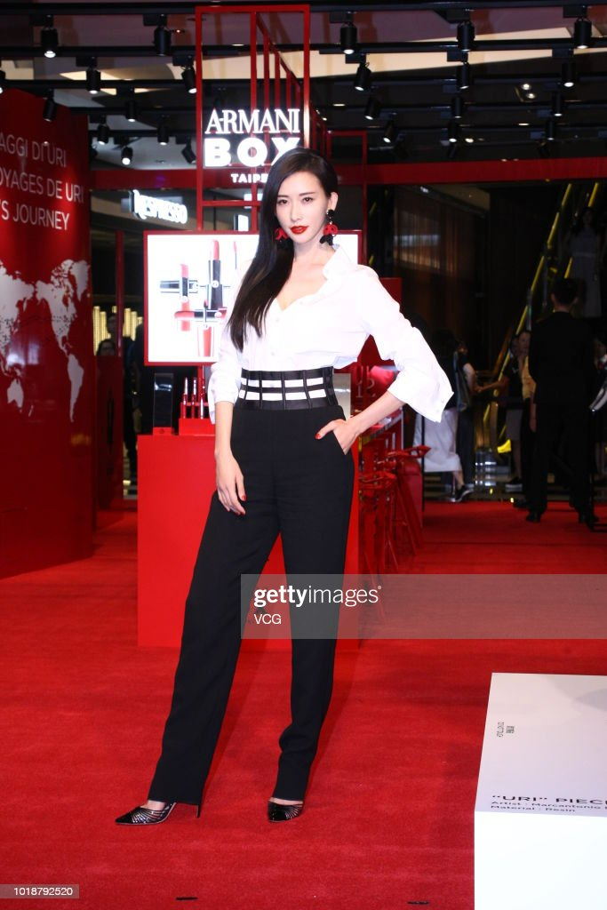 Lin Chi-ling Attends Armani Event In Taipei
