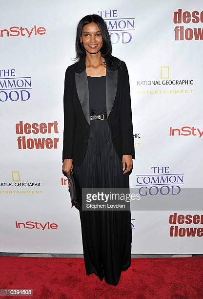 Actress/model Liya Kebede attends the screening of Desert Flower at Paley Center For Media on March 17 2011 in New York City