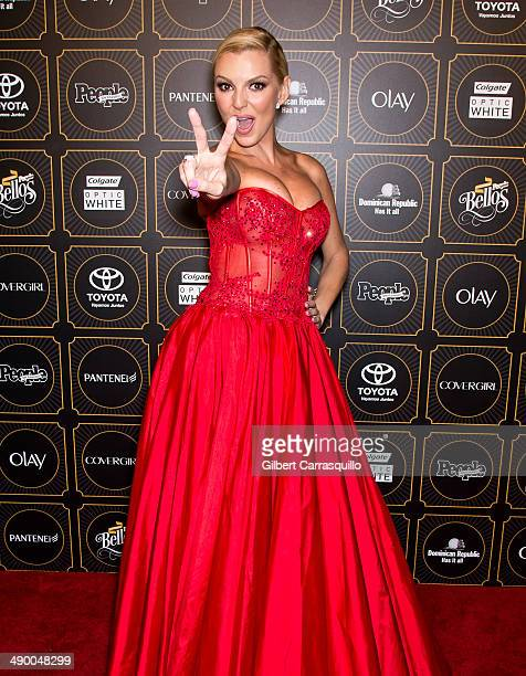 Actress/model Marjorie de Sousa attends People En Espanol 2014 Los 50 Mas Bellos at Capitale on May 12 2014 in New York City