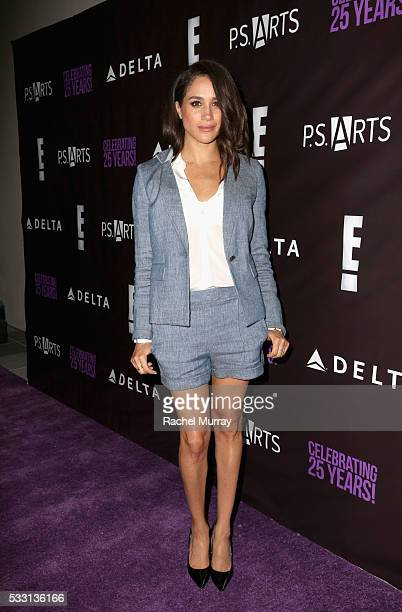 Actress/model Meghan Markle attends the pARTy celebrating 25 years of PS ARTS on May 20 2016 in Los Angeles California
