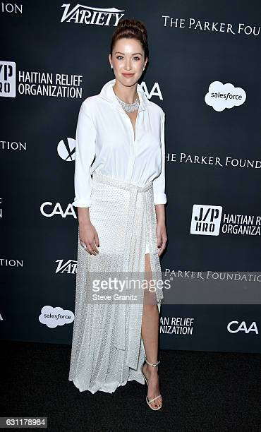 Actress/model Melissa Bolona attends the 6th Annual Sean Penn Friends HAITI RISING Gala Benefiting J/P Haitian Relief Organization at Montage Beverly...