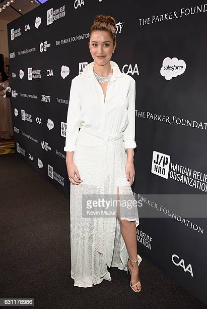 Actress/model Melissa Bolona attends the 6th Annual Sean Penn & Friends HAITI RISING Gala Benefiting J/P Haitian Relief Organization at Montage...