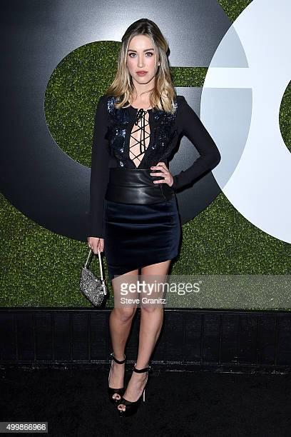 Actress/model Melissa Bolona attends the GQ 20th Anniversary Men Of The Year Party at Chateau Marmont on December 3, 2015 in Los Angeles, California.