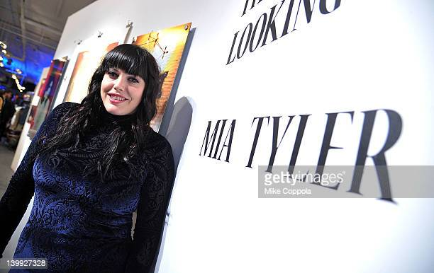 Actress/model Mia Tyler attends the Art Photography of Mia Tyler exhibit at RIFF's WTF Saturday on February 25 2012 in New York City