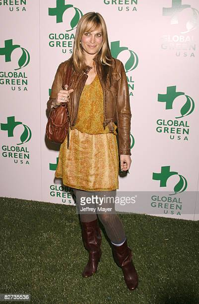 Actress/model Molly Sims arrives at Global Green USA 5th preOscar Party held at Avalon on February 20 2008 in Hollywood California
