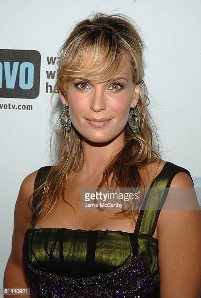Actress/model Molly Sims attends Bravo's 1st AList Awards at the Hammerstein Ballroom on June 4 2008 in New York City