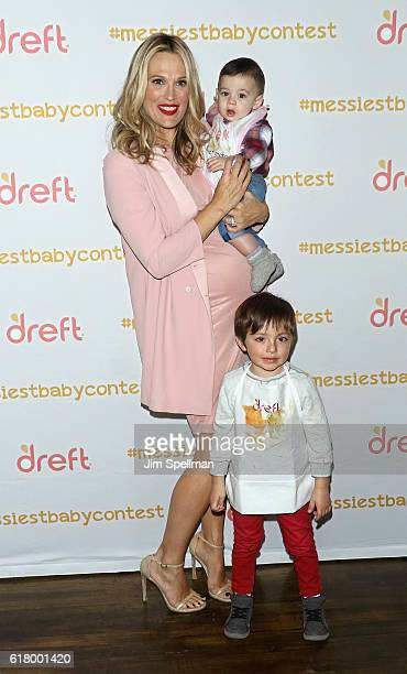 Actress/model Molly Sims attends the America's Messiest Baby Contest Launch at Maman Bakery Tribeca on October 25 2016 in New York City