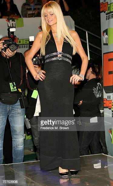 Actress/Model Paris Hilton arrives to the VH1 Big in '06 Awards held at Sony Studios on December 2 2006 in Culver City California