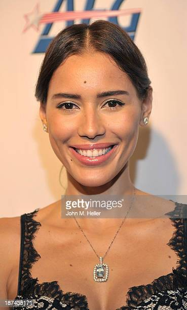 Actress/Model Rebecca Da Costa attends the greater Los Angeles YWCA Rhapsody Ball at the Beverly Hills Hotel on November 8 2013 in Beverly Hills...