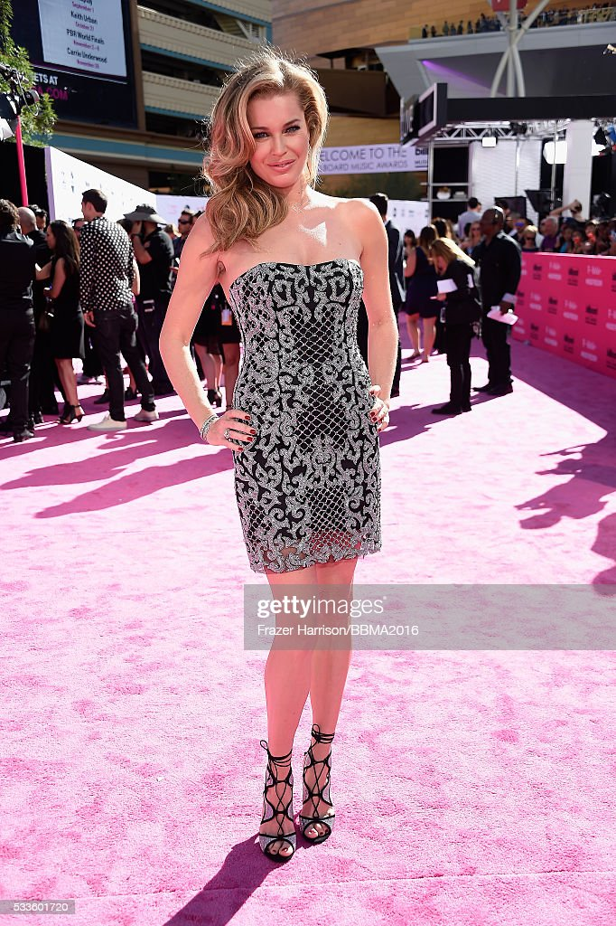 Actress/model Rebecca Romijn attends the 2016 Billboard Music Awards at T-Mobile Arena on May 22, 2016 in Las Vegas, Nevada.