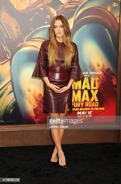 Actress/model Riley Keough arrives at the Mad Max Fury Road Los Angeles Premiere at TCL Chinese Theatre IMAX on May 7 2015 in Hollywood California