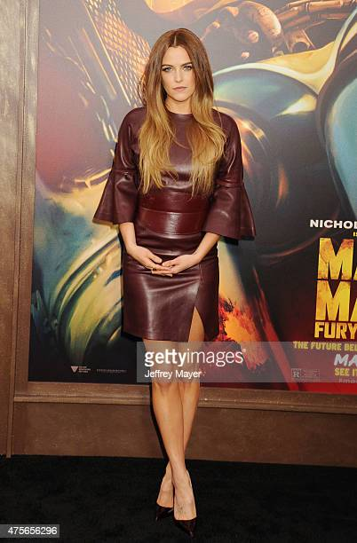Actress/model Riley Keough arrives at the 'Mad Max Fury Road' Los Angeles Premiere at TCL Chinese Theatre IMAX on May 7 2015 in Hollywood California