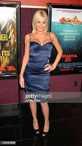 Actress/model Riley Steele arrives at the 'Piranha 3D' Los Angeles Premiere at Mann Chinese 6 on August 18 2010 in Los Angeles California