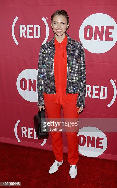 Actress/model Ruby Rose attends the ONE And 's 'It Always Seems Impossible Until It Is Done' at Carnegie Hall on December 1 2015 in New York City