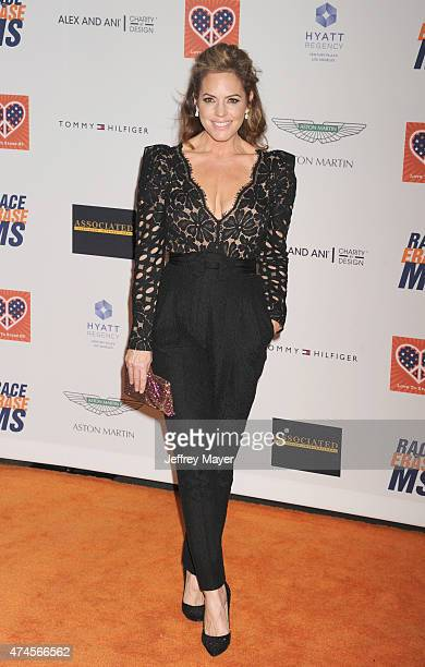 Actress/model Sandra Taylor arrives at the 22nd Annual Race To Erase MS at the Hyatt Regency Century Plaza on April 24, 2015 in Century City,...