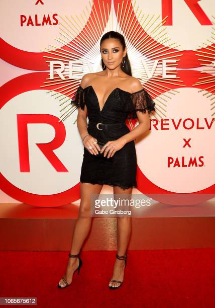 Actress/model Shay Mitchell attends Revolve's second annual #REVOLVEawards at Palms Casino Resort on November 9 2018 in Las Vegas Nevada