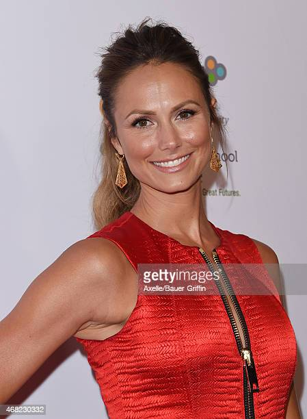 Actress/model Stacy Keibler arrives at The Independent School Alliance For Minority Affairs Impact Awards Dinner at Four Seasons Hotel Los Angeles at...