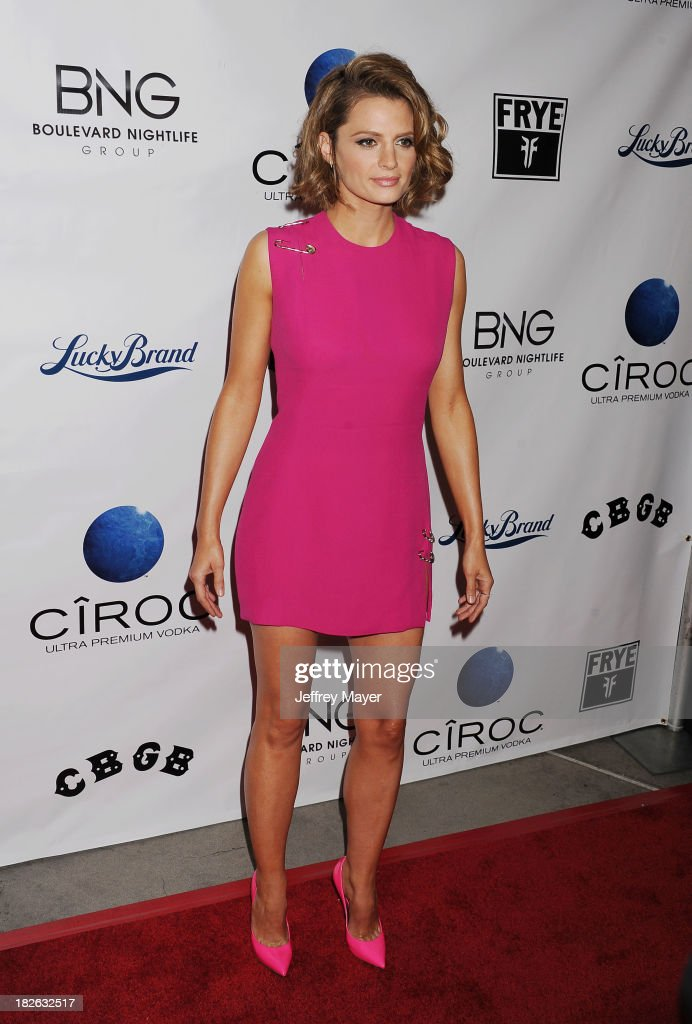 Stana Katic Pictures. Stana Katic CBGB Los Angeles