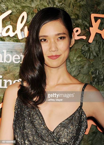 Actress/model Tao Okamoto arrives at the Wallis Annenberg Center For The Performing Arts Inaugural Gala at Wallis Annenberg Center for the Performing...