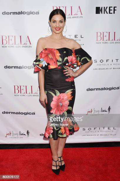 Actress/model Vlada Verevko attends the BELLA Los Angeles Summer Issue Cover Launch Party at Sofitel Los Angeles At Beverly Hills on June 23 2017 in...