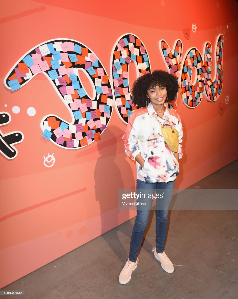 PUMA Galentine's Day Event with Yara Shahidi and Elaine Welteroth