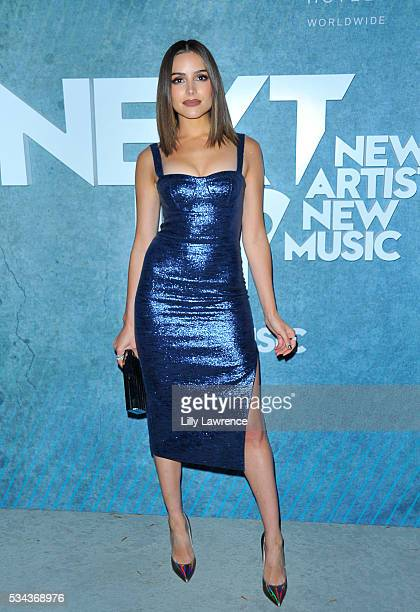 Actress/Model/Miss Universe 2012 Olivia Culpo attends the Gallant performance at W Los Angeles West Beverly Hills on May 25 2016 in Los Angeles...