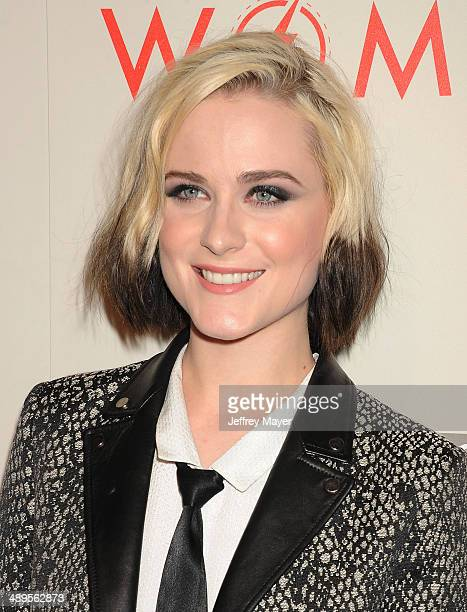 Actress/model/singer Evan Rachel Wood arrives at the 2014 'An Evening With Women' Benefiting LA Gay Lesbian Center at the Beverly Hilton Hotel on May...