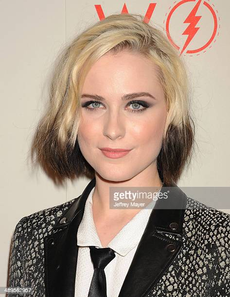 Actress/model/singer Evan Rachel Wood arrives at the 2014 An Evening With Women Benefiting LA Gay Lesbian Center at the Beverly Hilton Hotel on May...