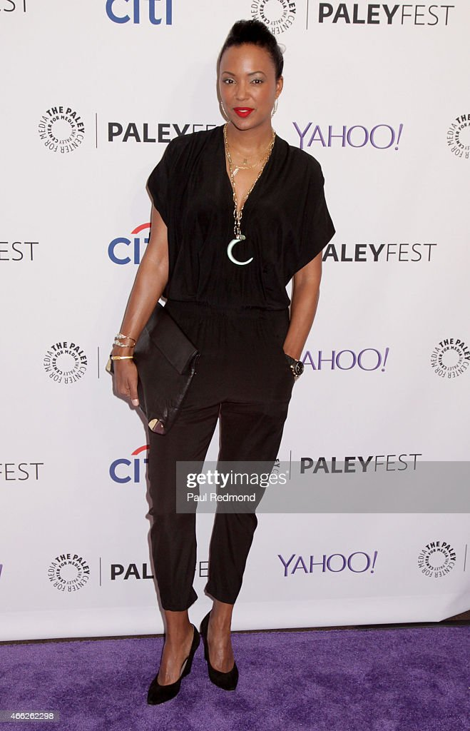 Actress/moderator attends The Paley Center For Media's 32nd Annual PALEYFEST LA - 'Arrow' And 'The Flash' at Dolby Theatre on March 14, 2015 in Hollywood, California.