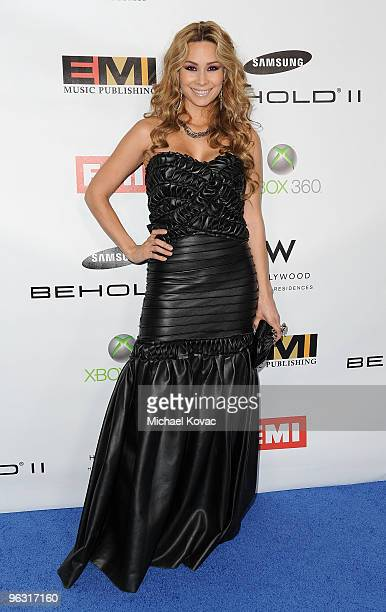Actress/musician Christina T Lopez arrives at the EMI PostGRAMMY Party at W Hollywood on January 31 2010 in Hollywood California