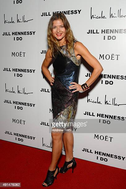 Actress/Musician Jill Hennessy attends the Album Release Party for Jill Hennessy's I Do at The Cutting Room on October 5 2015 in New York City