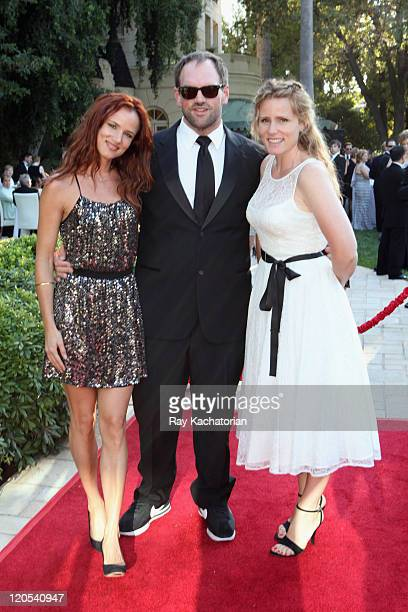 Actress/musician Juliette Lewis actor Ethan Suplee and Brandy Lewis attend the Church of Scientology Celebrity Centre 42nd Anniversary Gala held at...