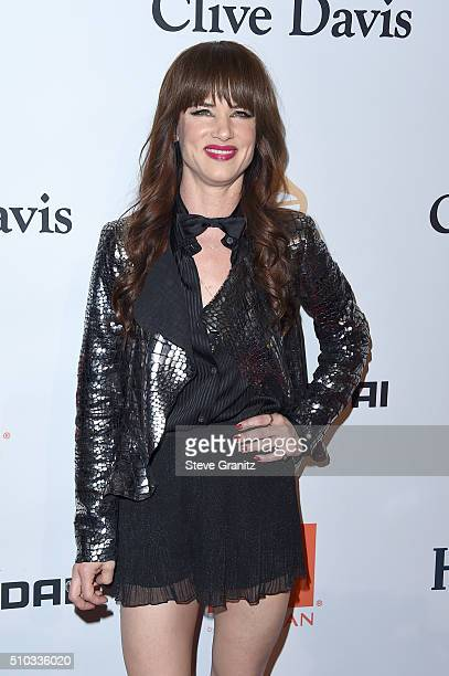 Actress/musician Juliette Lewis attends the 2016 PreGRAMMY Gala and Salute to Industry Icons honoring Irving Azoff at The Beverly Hilton Hotel on...