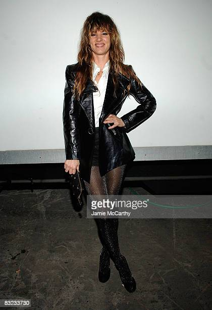 Actress/musician Juliette Lewis attends the Diesel xXx Rock Roll Circus at Pier 3 on October 11 2008 in Brooklyn New York
