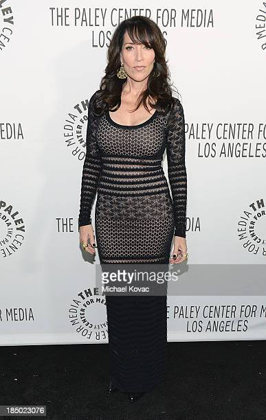 Actress/musician Katey Sagal arrives at The Paley Center for Media's 2013 benefit gala honoring FX Networks with the Paley Prize for Innovation...