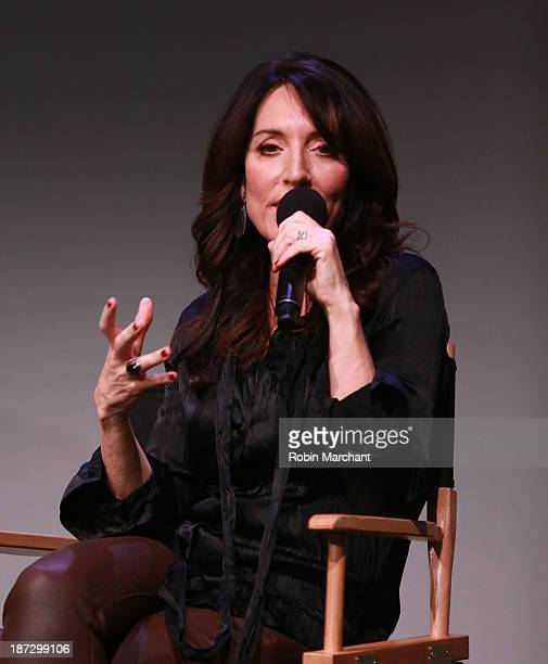 Actress/musician Katey Sagal visits Apple Store Soho on November 7 2013 in New York City