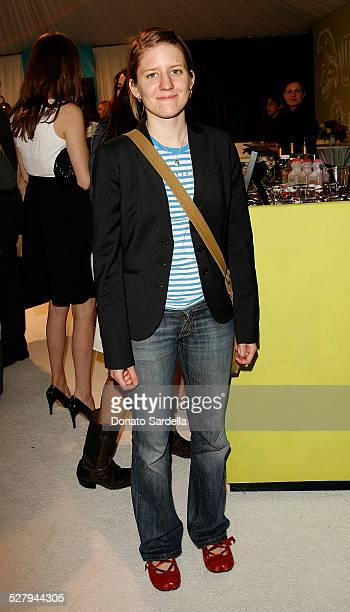 Actressmusician Marketa Irglova at the ELLE Green Lounge at Film Independent's 2008 Spirit Awards at the Santa Monica Pier on February 23 2008 in...
