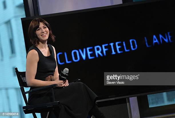 Actress/musician Mary Elizabeth Winstead discusses her new thriller 10 Cloverfield Lane at AOL Build Speakers Series at AOL Studios In New York on...