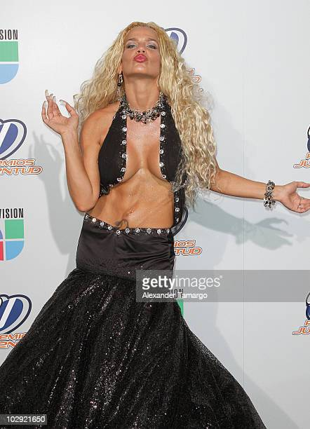 Actress/musician Niurka Marcos attends the Univision Premios Juventud Awards at BankUnited Center on July 15 2010 in Miami Florida