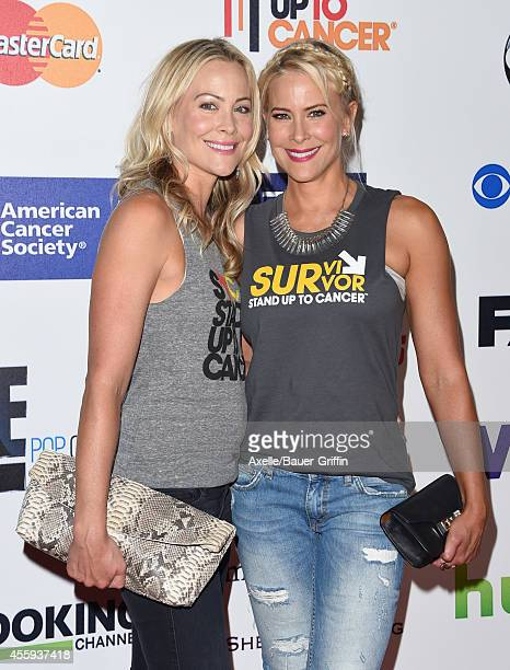 Actress/photographer Cynthia Daniel and sister actress Brittany Daniel attend the 4th Biennial Stand Up To Cancer A Program of The Entertainment...