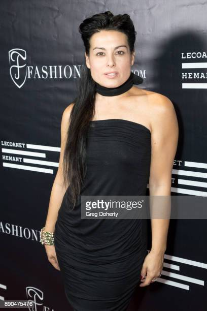 Actress/Producer Alexis Iacono attends the Fashioniserscom Presents The Los Angeles Debut Of Lecoanet Hemant At 'One Night In Paris' at Sofitel Hotel...