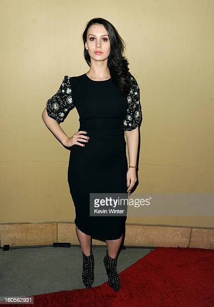 Actress/producer Alixandra von Renner attends the 65th Annual Directors Guild Of America Awards at Ray Dolby Ballroom at Hollywood Highland on...