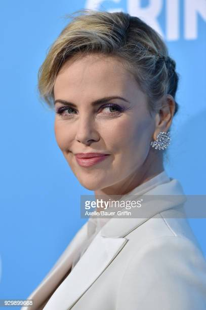 Actress/producer Charlize Theron attends the World Premiere of 'Gringo' at Regal LA Live Stadium 14 on March 6 2018 in Los Angeles California