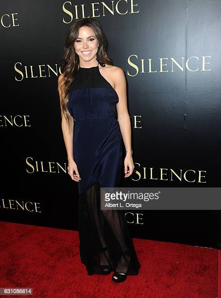 Actress/producer Courtney Turk arrives for the Premiere Of Paramount Pictures' Silence held at Directors Guild Of America on January 5 2017 in Los...