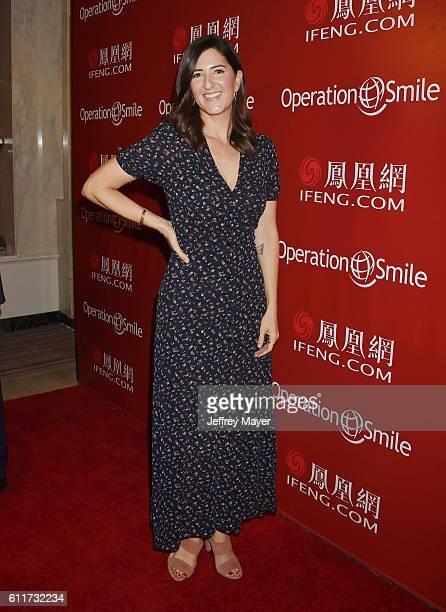 Actress/producer D'Arcy Carden arrives at Operation Smile's Annual Smile Gala at the Beverly Wilshire Four Seasons Hotel on September 30 2016 in...