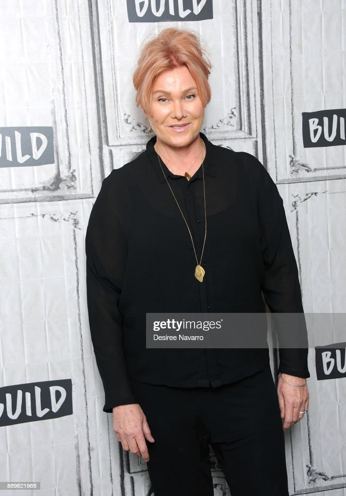 Actress/producer Deborra-lee Furness visits Build to discuss Worldwide Orphans 20th Anniversary at Build Studio on November 2, 2017 in New York City.