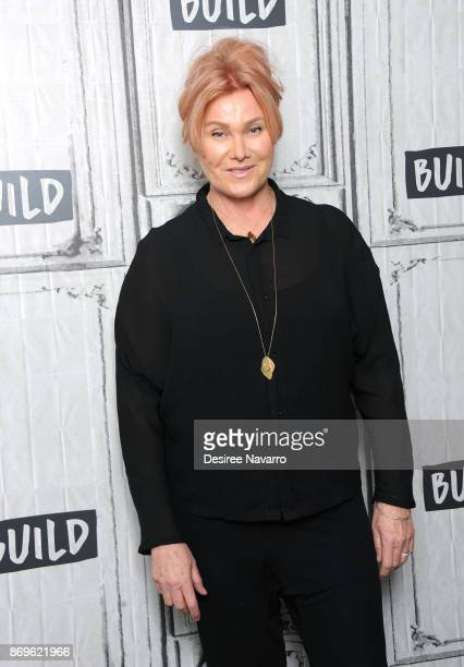 Actress/producer Deborralee Furness visits Build to discuss Worldwide Orphans 20th Anniversary at Build Studio on November 2 2017 in New York City