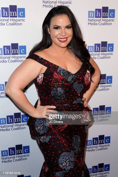 Actress/producer Gloria Calderon Kellet attends the 22nd Annual National Hispanic Media Coalition Impact Awards Gala at Regent Beverly Wilshire Hotel...